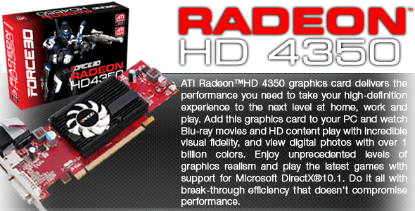 Ati radeon hd 4350 download drivers download.